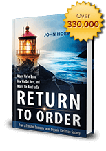 Buy your copy of Return to Order