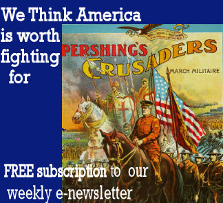 Free Subscription to our weekly newsletter - America is worth fighting for