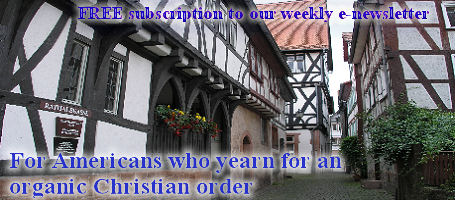 Subscribe Return to Order organic Christian America