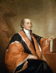 John Jay, an American politician, statesman, diplomat, a Founding Father of the United States, and the first Chief Justice of the United States.