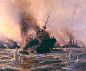 Sinking_of_Battship_Bouvet_at_the_Dardanelles-Tahsin_Bey