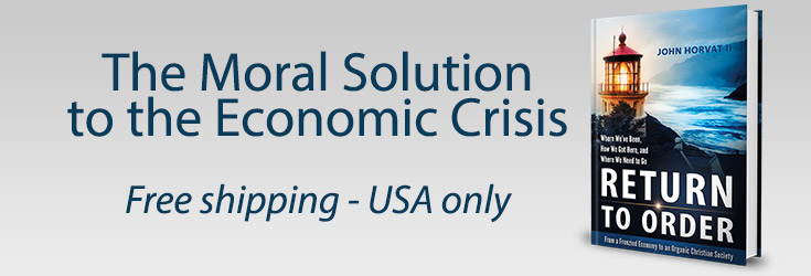 moral solution to economic crisis