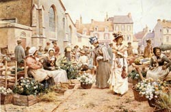 15_Flower_Market_In_A_French_Town