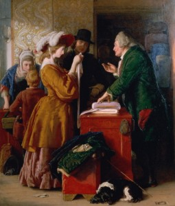 Choosing_the_Wedding_Gown_vicar_of_wakefield_mulready-255x300 Trust: The Missing Element in Today's Economy