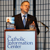 Invite John Horvat to Speak - photo at The Catholic Information Center