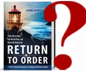 Who Should Read Return to Order