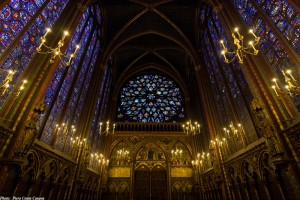 Sainte-Chapelle upper chapel Paris The Sainte Chapelle: Glorious Fruit of the Middle Ages: VIDEO