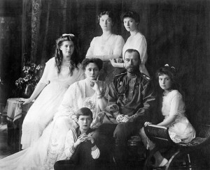 The Meaning of Loyalty, Historic Example Family Nicholas II of Russia