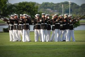USMC Silent drill squad