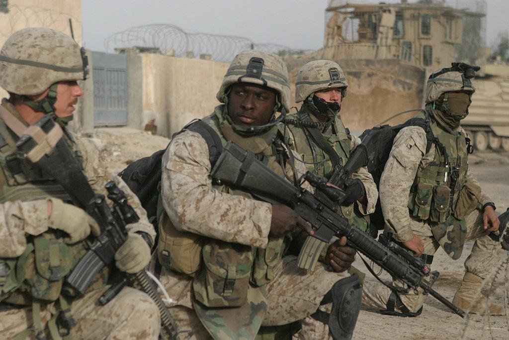 marines in Iraq