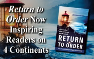Return to Order Now available in Australia: inspiring readers on four continents