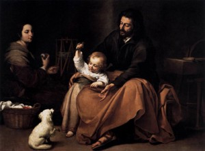 The_Holy_Family_Murillo-300x221 The Family Always Existed