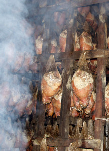 "Newsoms_Smokehouse_Cold_Smoke_Cured_Aged_Hams-217x300 ""The Ham Lady"" and the Art of Ham Curing"