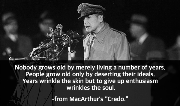 Douglas-MacArthurs-Credo What Happened to Role Models?