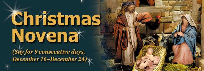 Christmas Novena banner