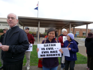 Standing Against Satan in Portland After School Club at Sacramento Elementary School