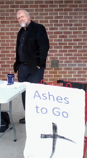 ashes-to-go A Lenten Meditation on an Unconventional Ash Wednesday