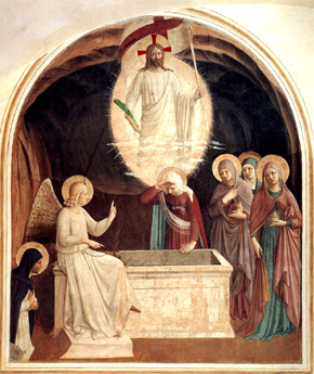 2016_Fra_Angelico_Easter_Resurrection_of_Christ_and_Holy_Women_at_the_Tomb The Immense Majesty of the Church's Celebration of Easter