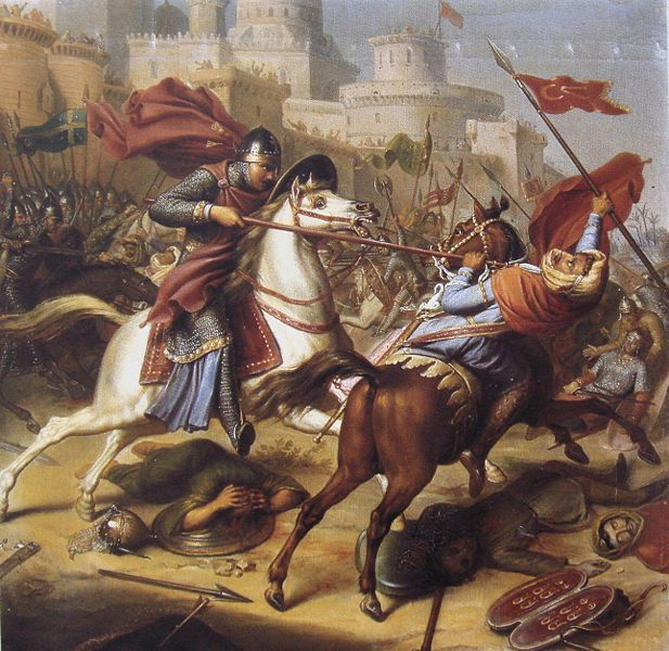 617px-Robert_de_Normandie_at_the_Siege_of_Antioch_1097-1098 Military, Social, and Religious History of Chivalry and Knighthood