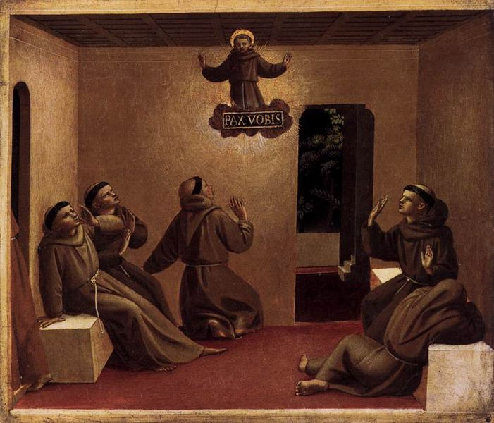 701px-Angelico_apparizione_di_san_francesco He Chose a Greater Chivalry: St. Francis of Assisi (Part 5)