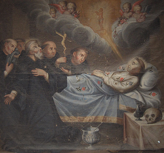 Death-of-St-Francis-of-Assisi-Evora-Portugal-Igreja-de-Sao-Francisco He Chose a Greater Chivalry: St. Francis of Assisi (Part 5)