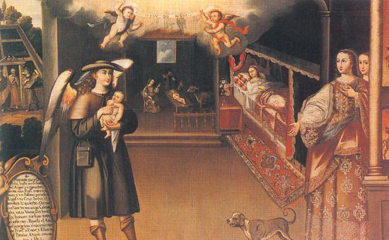 Nacimiento_de_San_Francisco_Basilio_Santa_Cruz He chose a greater chivalry: St. Francis of Assisi (Part 1)