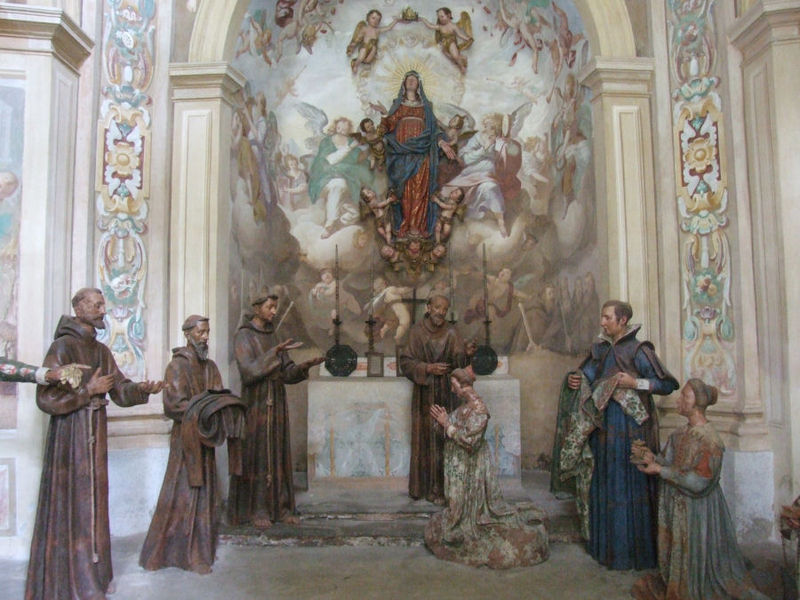 Sacro_Monte_di_Orta_030 He chose a greater chivalry: St. Francis of Assisi-(Part 2)