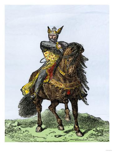 el-cid-rodrigo-diaz-de-vivar El Cid demands an oath from King Alfonso prior to giving his allegiance