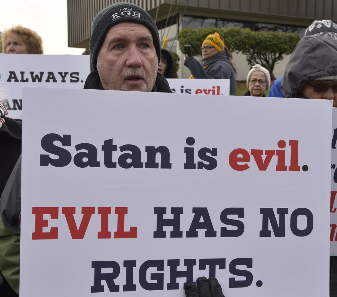 call_protest_growing_threat_satanism