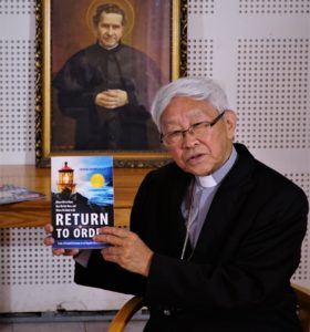 Cardinal Zen Receives 'Return to Order'