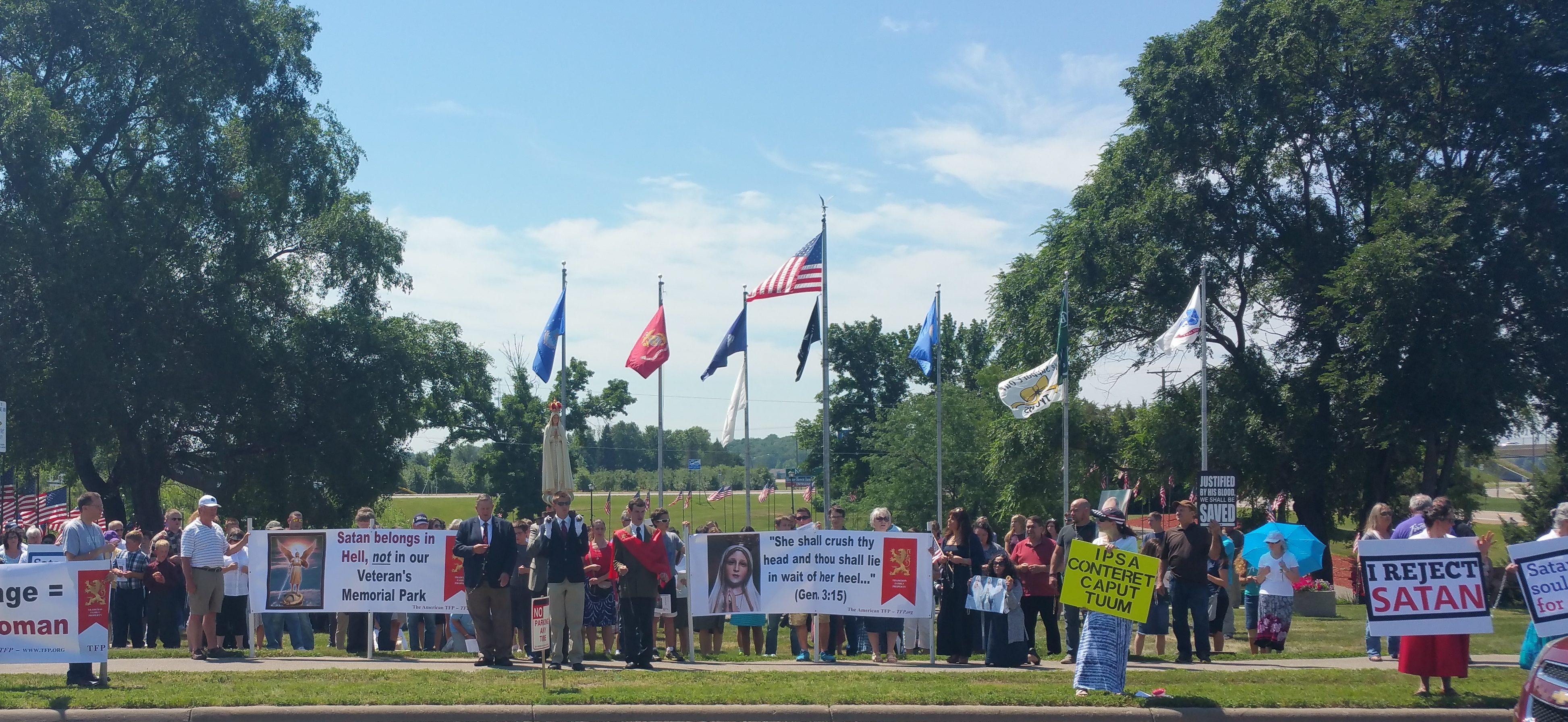 Catholics Reject Satan Monument in Belle Plaine, Minnesota