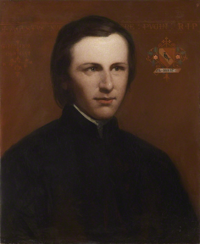 Augustus_Welby_Northmore_Pugin_from_NPG Catholic Medieval Architecture Converts Protestant Artist