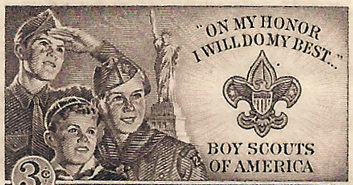 "Boy_Scouts_BSA_Stamp-e1508020005180 This is the ""Girlification"" of the Boy Scouts"