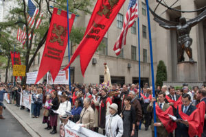 America Prays the Rosary In Massive Public Events