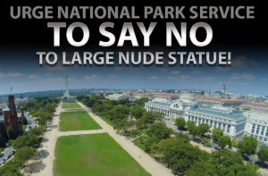 Nightmare of Nudity Honored on National Mall