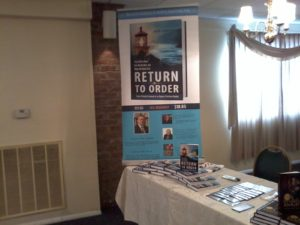'Return to Order' and 'American Knight' Featured at York Book Expo