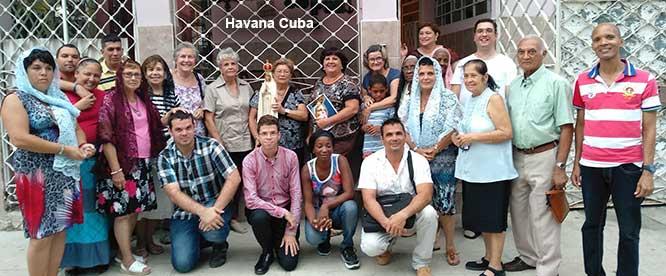 Havana-Cuba-2018 Rosary Rallies in the Public Square