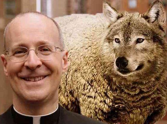 Fr_James_Martin-wolf-1-e1545257579790 Fr. James Martin Blasphemes the Holy Rosary