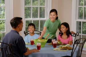 Something Is Wrong When Family Dinners Are Silent