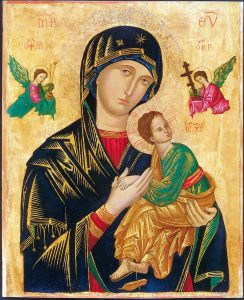Who Painted the First Picture of Our Lady?